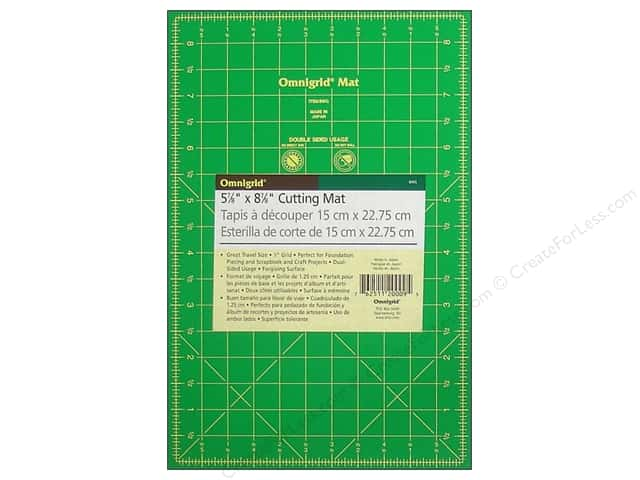 Omnigrid Cutting Mat 5 7/8 x 8 7/8 in. with 1/2 in. Grid