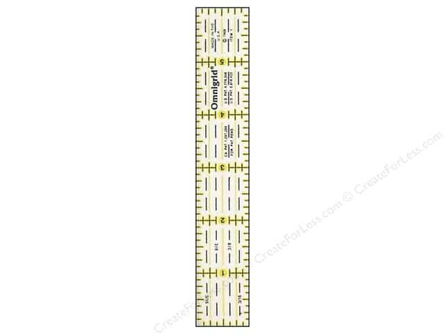 Omnigrid Ruler 1 x 6 in.