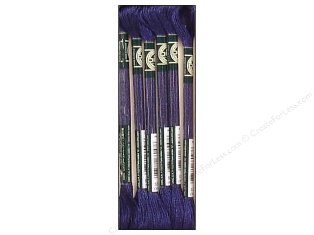 DMC Satin Embroidery Floss #S336 Prussian Blue (6 skeins)