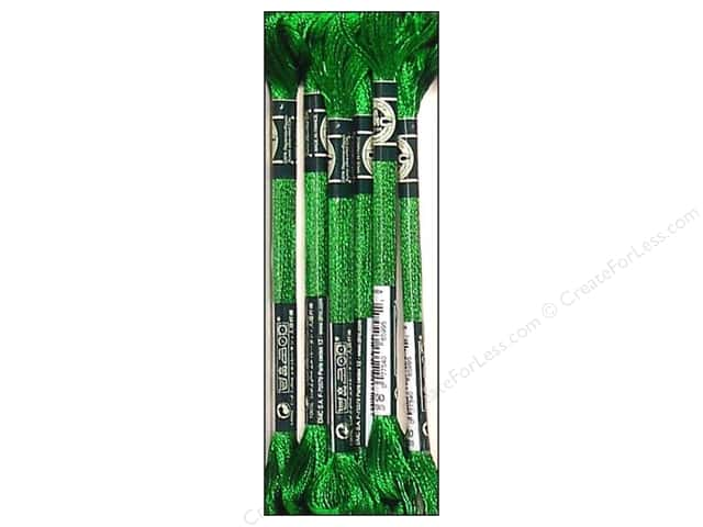 DMC Satin Embroidery Floss #S700 Tropical Leaves