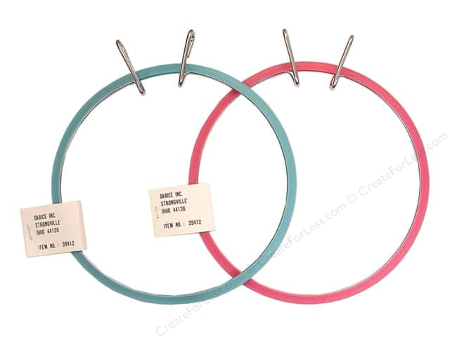 Darice Spring Tension Hoop 7 in.