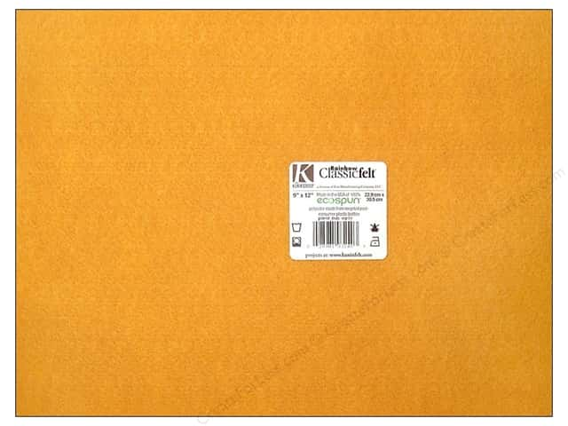Kunin Felt 9 x 12 in. Goldenrod (24 sheets)