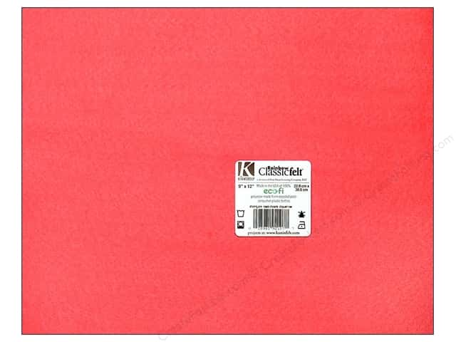 Kunin Felt 9 x 12 in. Shocking Pink (24 sheets)