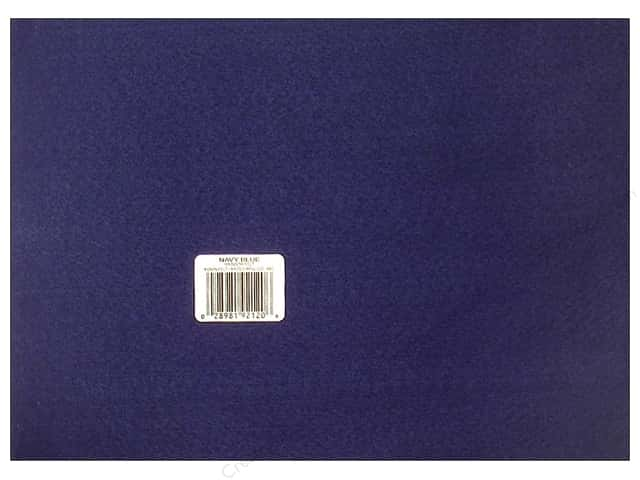 Kunin Felt 9 x 12 in. Navy Blue (24 sheets)