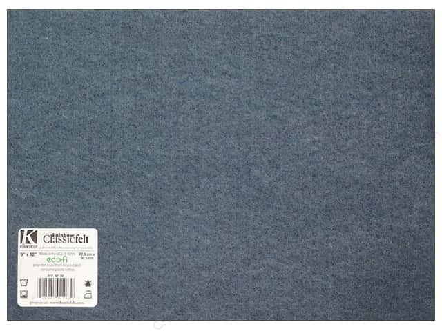 Kunin Felt 9 x 12 in. Denim (24 sheets)