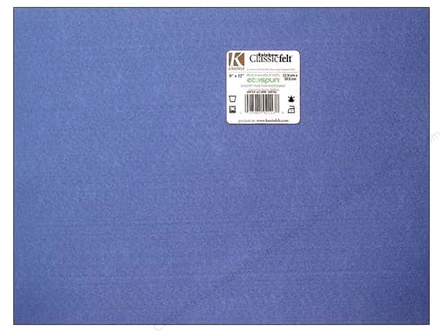 Kunin Felt 9 x 12 in. Cadet Blue (24 sheets)