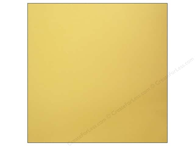 Bazzill Cardstock 12 x 12 in. Dotted Swiss Butter (25 sheets)