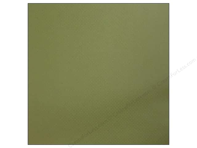 Bazzill 12 x 12 in. Cardstock Dotted Swiss CloverLeaf (25 sheets)