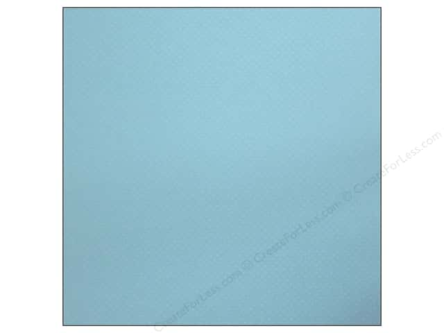 Bazzill 12 x 12 in. Cardstock Dotted Swiss Poolside (25 sheets)