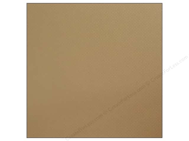 Bazzill 12 x 12 in. Cardstock Dotted Swiss Mud Puddle (25 sheets)