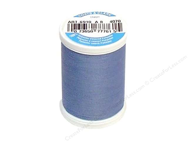 Coats & Clark Dual Duty XP All Purpose Thread 250yd #4070 Cloudy Blue