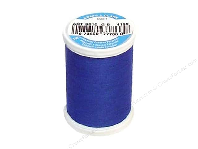 Coats & Clark Dual Duty XP All Purpose Thread 250 yd. #4160 Crayon Blue