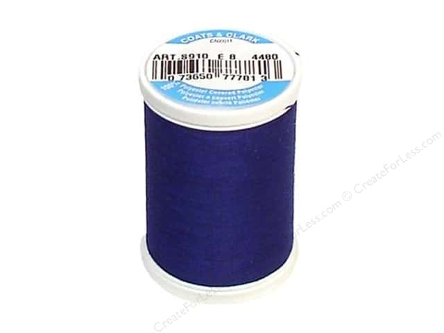 Coats & Clark Dual Duty XP All Purpose Thread 250 yd. #4480 Caspian Sea