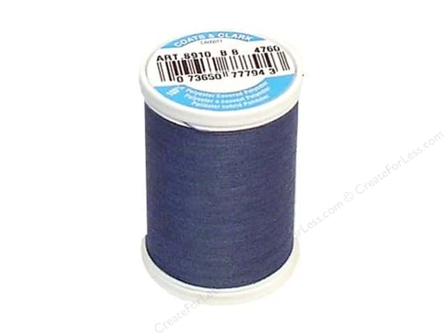 Coats & Clark Dual Duty XP All Purpose Thread 250 yd. #4760 Blue Slate