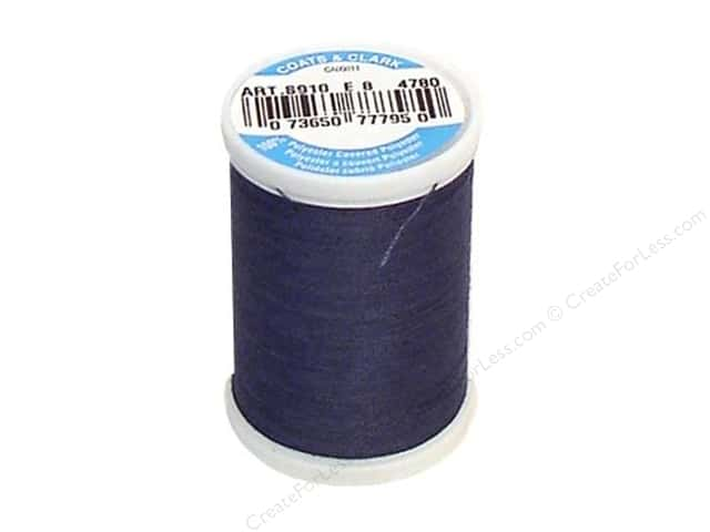 Coats & Clark Dual Duty XP All Purpose Thread 250 yd. #4780 Blue Stone