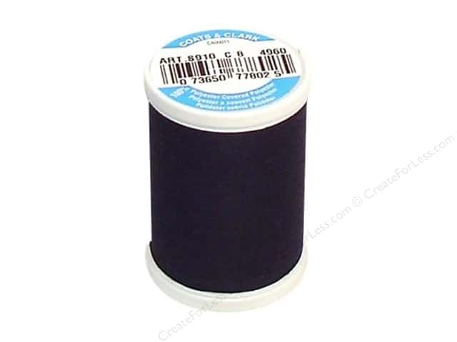 Coats & Clark Dual Duty XP All Purpose Thread 250 yd. #4960 Night Watch