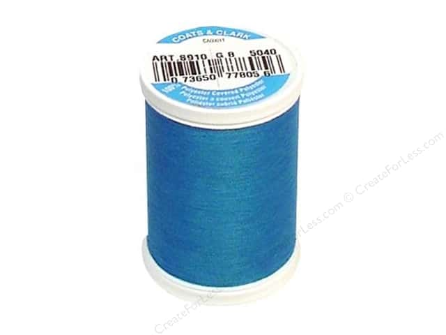 Coats & Clark Dual Duty XP All Purpose Thread 250 yd. #5040 Blue Hawaii