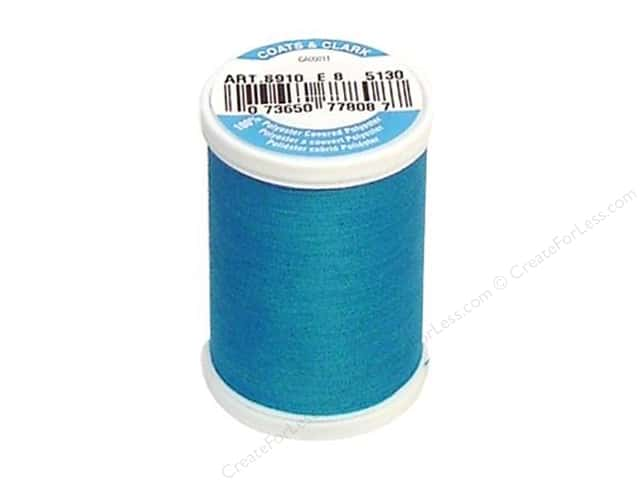 Coats & Clark Dual Duty XP All Purpose Thread 250 yd. #5130 Hummingbird Blue