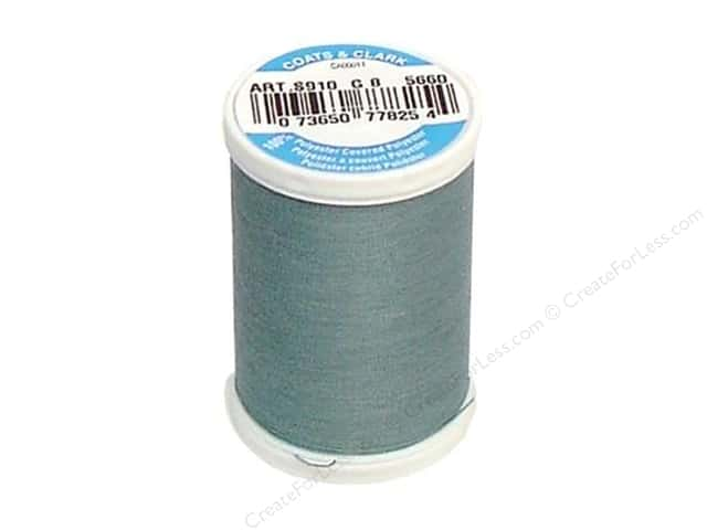 Coats & Clark Dual Duty XP All Purpose Thread 250 yd. #5660 Aqua
