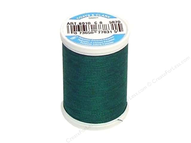 Coats & Clark Dual Duty XP All Purpose Thread 250 yd. #5870 Dark Jade
