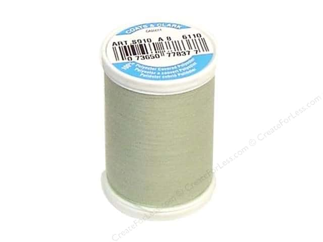Coats & Clark Dual Duty XP All Purpose Thread 250 yd. #6110 Celadon