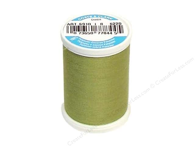 Coats & Clark Dual Duty XP All Purpose Thread 250 yd. #6220 Okra