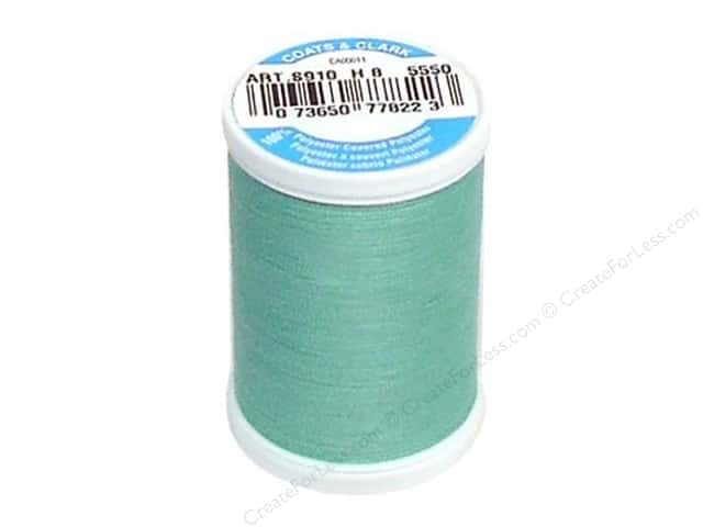 Coats & Clark Dual Duty XP All Purpose Thread 250 yd. #5550 Mist Aqua