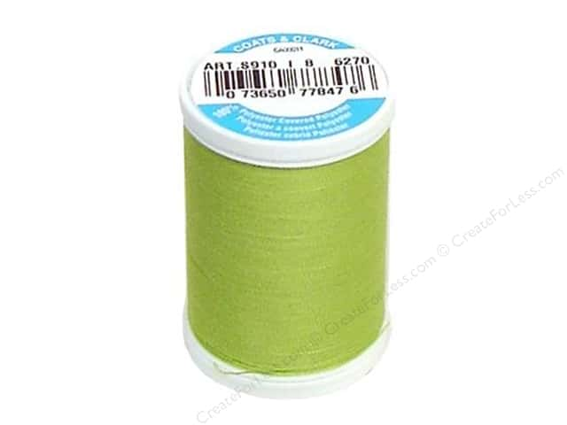 Coats & Clark Dual Duty XP All Purpose Thread 250 yd. #6270 Kiwi