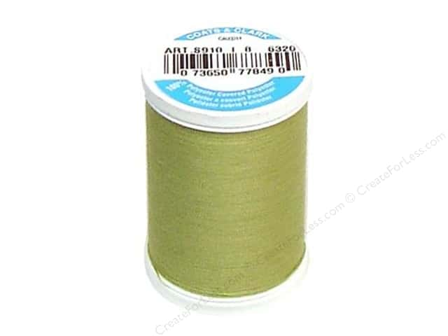 Coats & Clark Dual Duty XP All Purpose Thread 250 yd. #6320 Light Olive
