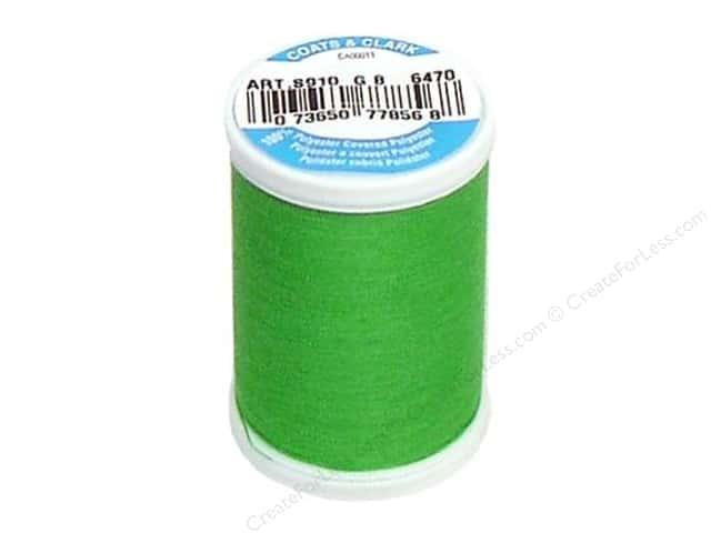 Coats & Clark Dual Duty XP All Purpose Thread 250 yd. #6470 Leprechaun
