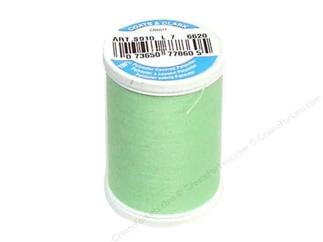 Coats & Clark Dual Duty XP All Purpose Thread 250 yd. #6620 Bright Mint