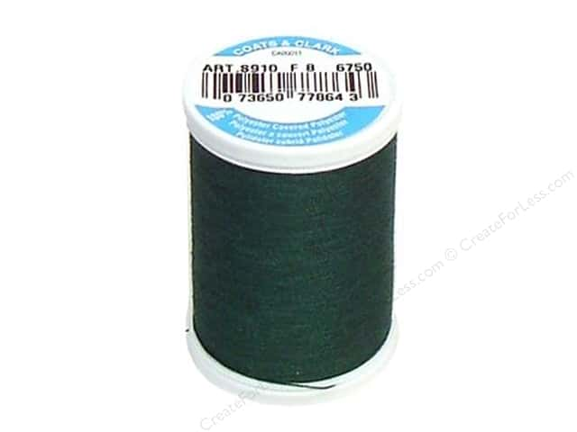 Coats & Clark Dual Duty XP All Purpose Thread 250 yd. #6750 Hunter Green