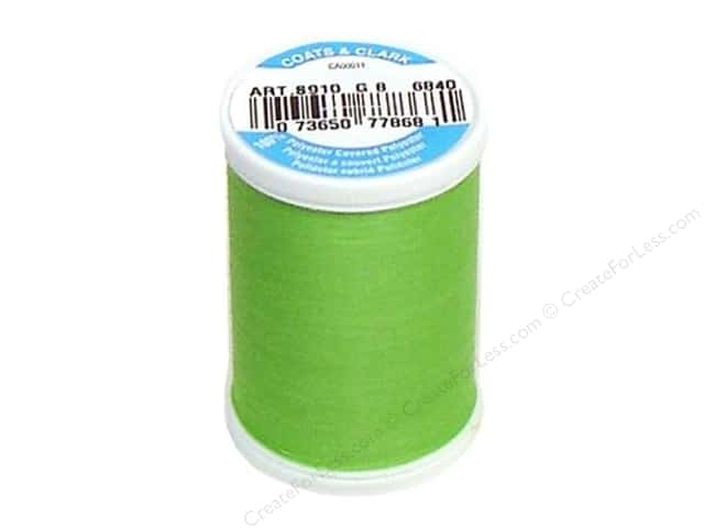 Coats & Clark Dual Duty XP All Purpose Thread 250 yd. #6840 Lime