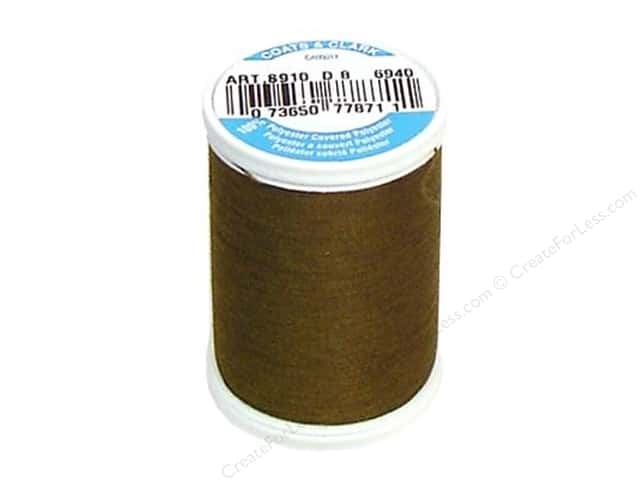 Coats & Clark Dual Duty XP All Purpose Thread 250 yd. #6940 Golden Olive