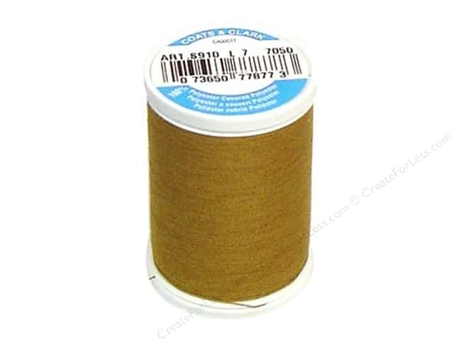 Coats & Clark Dual Duty XP All Purpose Thread 250 yd. #7050 Brass