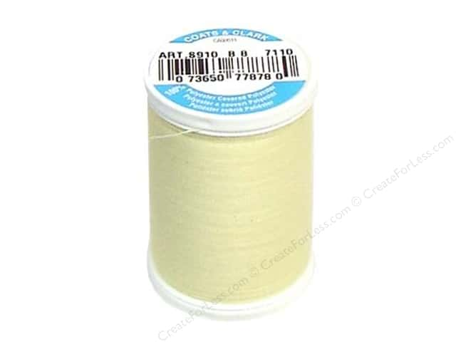 Coats & Clark Dual Duty XP All Purpose Thread 250 yd. #7110 Lemon Fizz