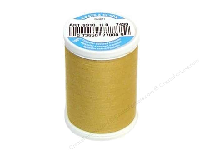 Coats & Clark Dual Duty XP All Purpose Thread 250 yd. #7430 Hay Ride