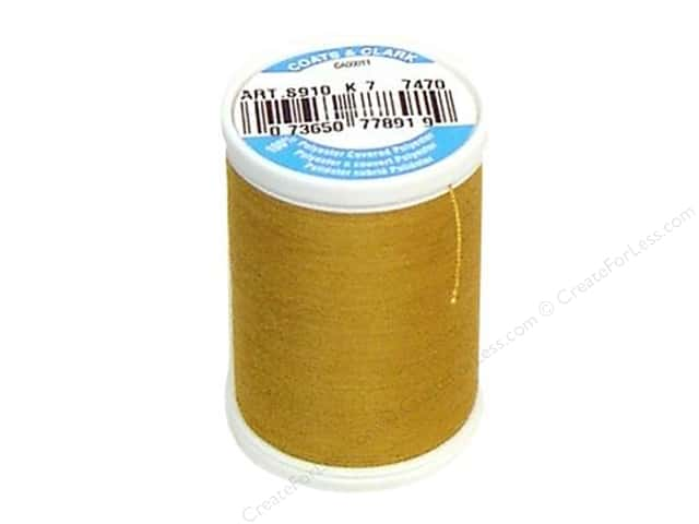 Coats & Clark Dual Duty XP All Purpose Thread 250 yd. #7470 Amber