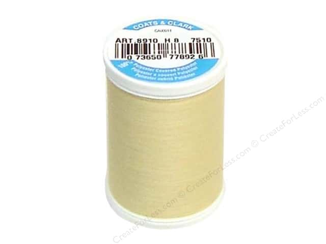 Coats & Clark Dual Duty XP All Purpose Thread 250 yd. #7510 Chamois