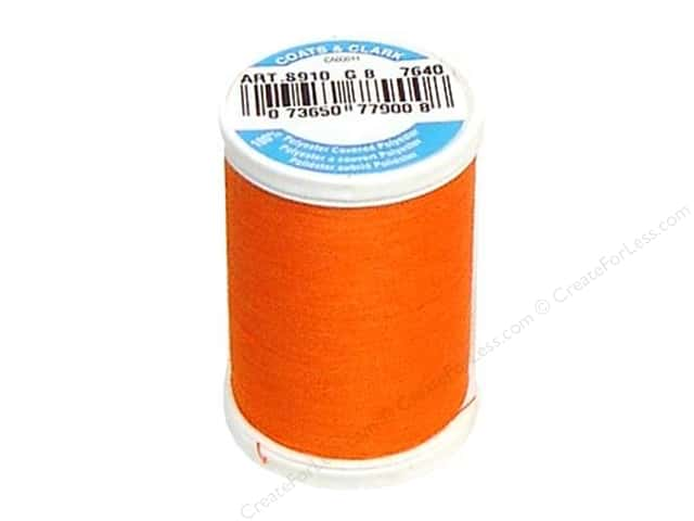 Coats & Clark Dual Duty XP All Purpose Thread 250 yd. #7640 Orange