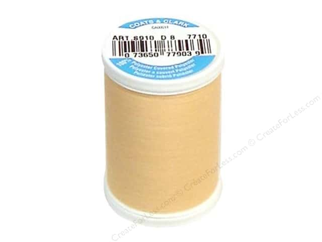 Coats & Clark Dual Duty XP All Purpose Thread 250 yd. #7710 Orange Whip