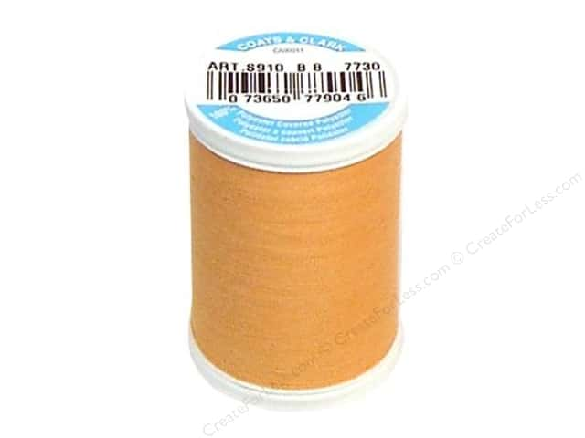 Coats & Clark Dual Duty XP All Purpose Thread 250 yd. #7730 Creamsicle