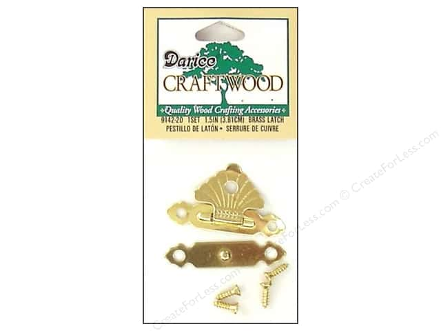 Darice Class Button Set 1 1/2 in. Curved Brass 1 pc.