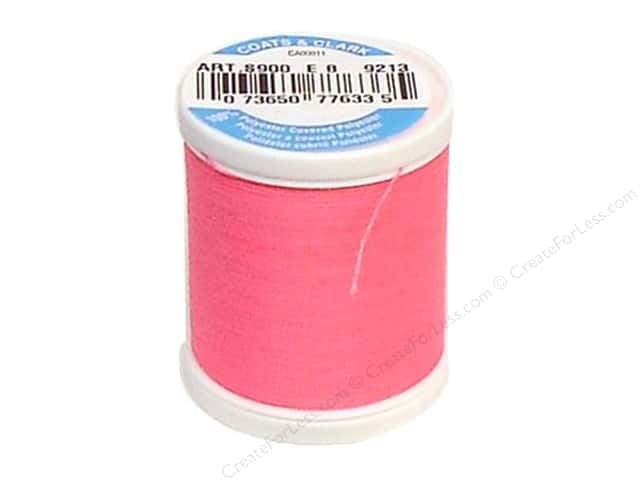 Coats & Clark Dual Duty XP All Purpose Thread 125 yd. #9213 Neon Pink