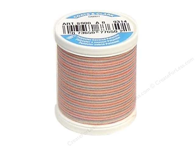 Coats & Clark Dual Duty XP All Purpose Thread 125 yd. #9314 Sherbet