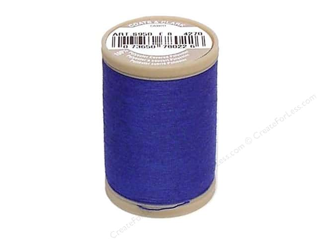 Coats & Clark Dual Duty XP Heavy Thread 125 yd. #4270 Monaco Blue