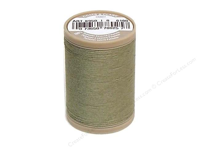 Coats & Clark Dual Duty XP Heavy Thread 125 yd. #6180 Green Linen