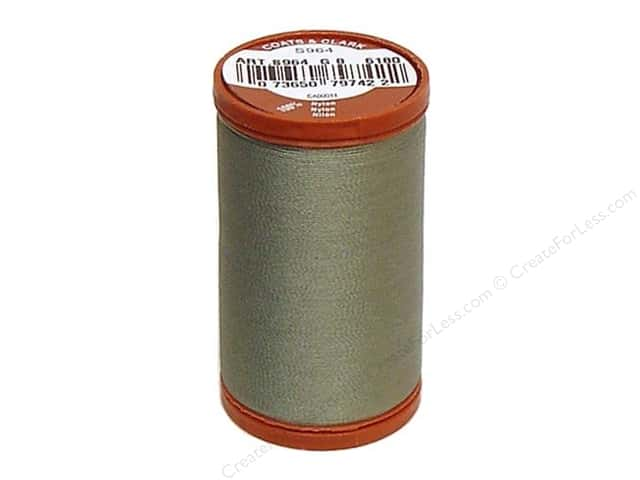 Coats Extra Strong Upholstery Nylon Thread 150 yd. #6180 Green Linen
