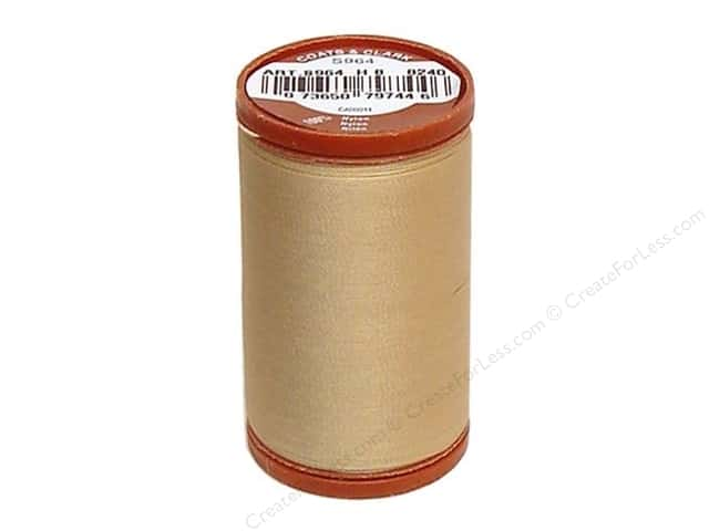 Coats Extra Strong Upholstery Nylon Thread 150 yd. #8240 Hemp