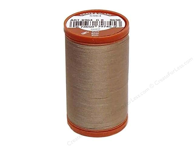 Coats Extra Strong Upholstery Nylon Thread 150 yd. #8630 Driftwood